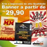 banner de lona para comunicação visual Campinas