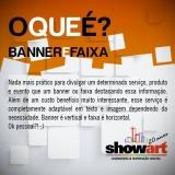 banner para comunicação visual preço Artur Nogueira