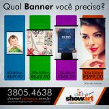 banners para comunicação visual Engenheiro Coelho
