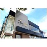 empresa de fachadas ACM para vitrines de loja Águas de Lindóia