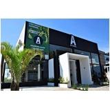 fachada para academia Artur Nogueira