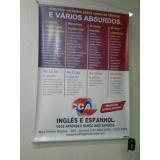 impressão digital de banners personalizada preço Jaguariúna