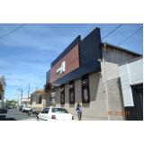 letreiros e fachadas em ACM Mogi Mirim