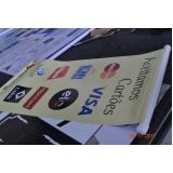 quanto custa banner para comunicação visual Cosmópolis